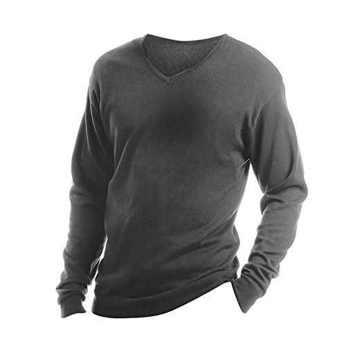 Kustom Kit Mens Arundel Long Sleeve V-Neck Sweater (L) - Arundel Shopping