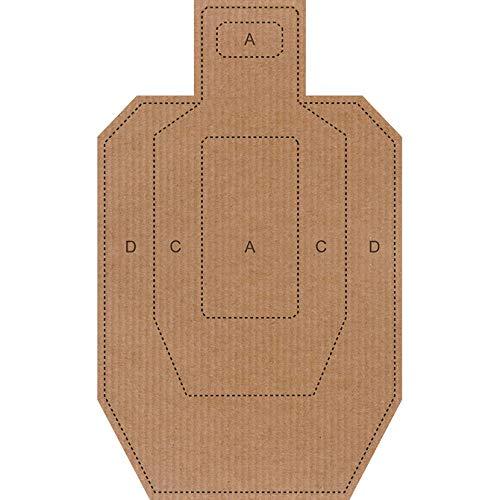 IPSC/USPSA Cardboard Targets (25 Pack)