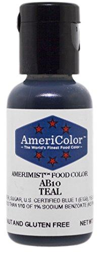 AmeriColor AmeriMist Teal Airbrush Food Color.65 oz
