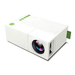Mini mobile projector deeplee portable led for Mini usb projector for mobile