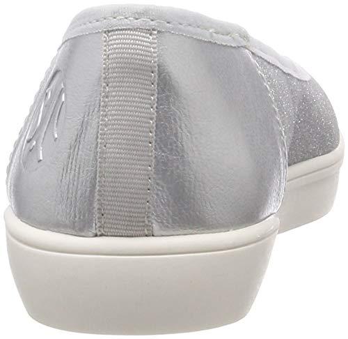 silver 5 S 941 Ballerines oliver Femme 941 Argenté 22 5 22102 qSx1zwUCq