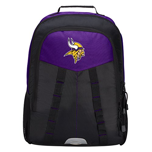 The Northwest Company Officially Licensed NFL Minnesota Vikings Scorcher Sports Backpack, Purple