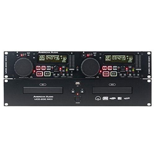 American Dj Supply Ucd200 Dual Cd Mp3 Player With Usb Inputs