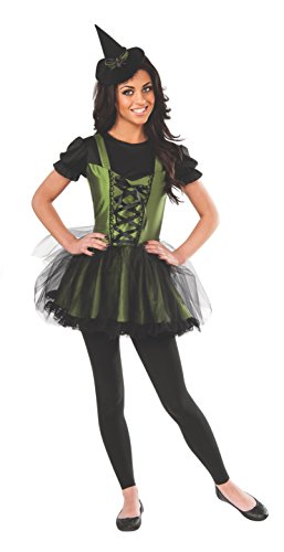 Wizard Of Oz Wicked Witch Of The West Teen Costume, Black/Green, (Wicked Witch Wizard Of Oz)