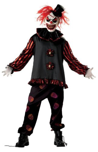 Costume Killer Clown Makeup (Carver The Killer Clown)