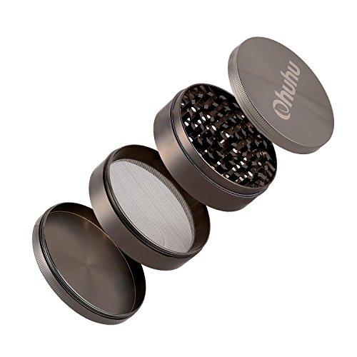 Ohuhu Grinders Tobacco Grinder Magnetic