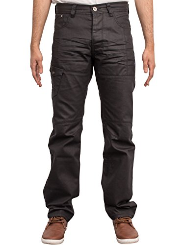 enzo-mens-black-coated-straight-regular-fit-stylish-jeans-pants-waist-sizes-28-42