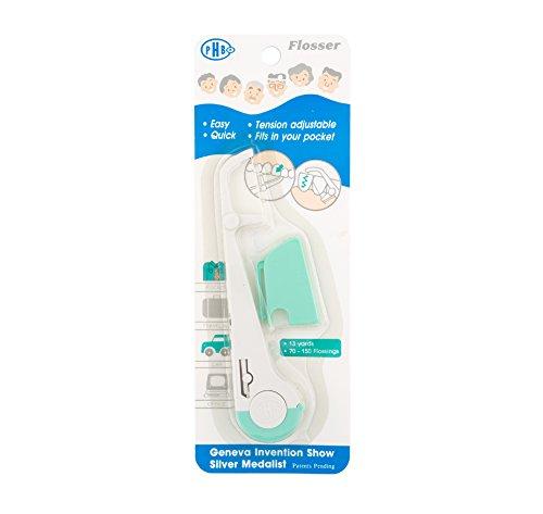 Tension Adjustable and Reusable Pocket Flosser