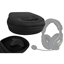 DURAGADGET Classic Black Hard Protective Headphone Storage Case Suitable For Use With Turtlebeach Ear Force X11 / DX11, Turtlebeach X12 / DX12 (AMZ FFP Xbox 360/PC DVD) Gaming Headsets