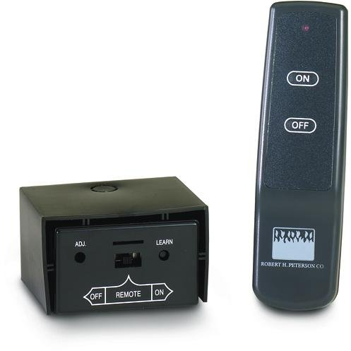 Peterson Gas Logs Basic On/Off Remote Receiver/Transmitter Set For -10,-11,-12 & -01 Pilot Kits Only