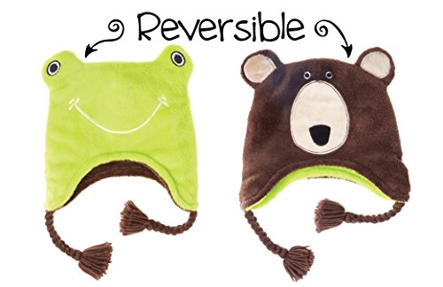 Winter Hat - Frog/Bear Youth (3-8 yrs) ()