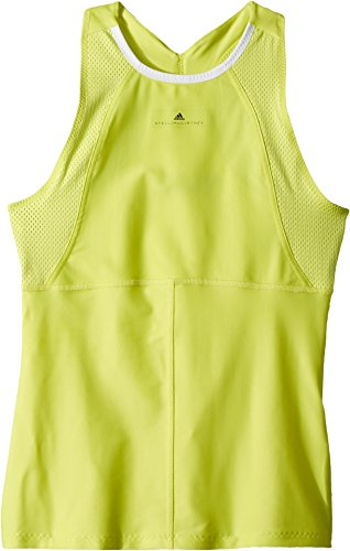adidas Kids Girl's Stella McCartney Barricade Tank Top (Little Kids/Big Kids) Aero Lime X-Small