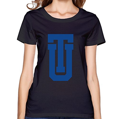 ZOENA Women's T Shirt - University Of Tulsa Logo Black XXL