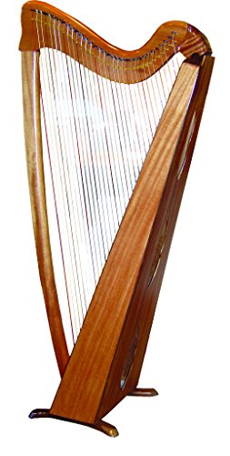 Voyageur Harp - 33 String Performance Model Harp with Full Levers, Wheels and Padded Gig Bag