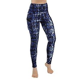 High Waist  Printed Yoga Pants Running Stretch Yoga Leggings