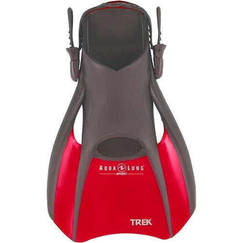ling Trek Fin (Red, Medium) ()