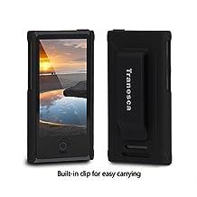 Tranesca Ultra Slim Protective Case for iPod Nano 7&8th Generation.(Obsidian Black)