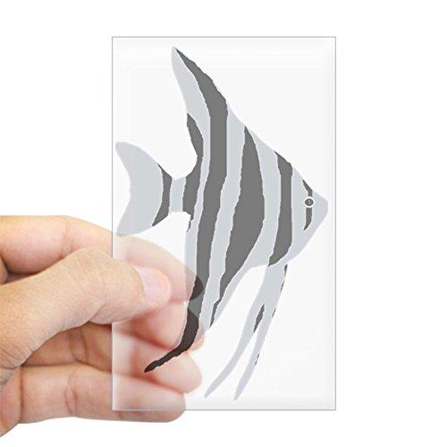 - CafePress Freshwater Angelfish Rectangle Bumper Sticker Car Decal