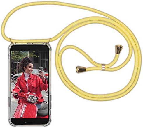 Tour de Cou Lani/ère en Corde Cover Necklace Bandouili/ère Styl/ée Housse pour Smartphone Lanyard Case Holder Coque Collier /Étui Huawei P30 de t/él/éphone avec Cordon