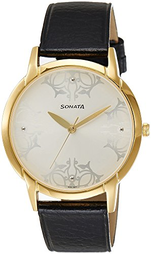 Sonata Mens Analogue Watch - 77031YL01J