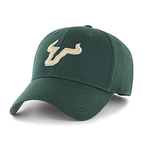NCAA South Florida Bulls NCAA OTS All-Star Adjustable Hat, Team Color, One Size