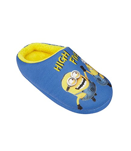 Minions-Despicable-Me-Chicos-Pantuflas-2016-Collection-Azul