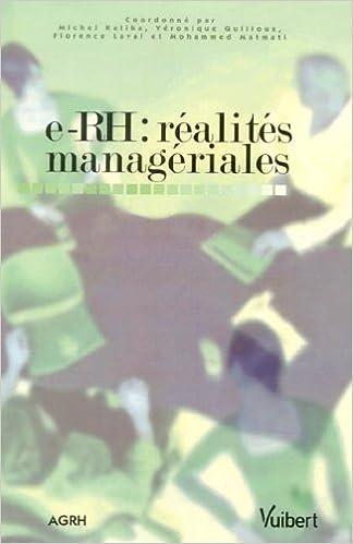 Livre gratuits E-RH : réalités managériales epub, pdf