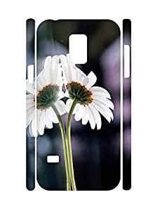 Beautiful Design Floral Pattern 3D Print Phone Case for Samsung Galaxy S5 Mini SM-G800 by supermalls
