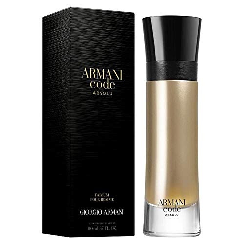Giorgio Armani Code Absolu EDP Eau de Parfum For Men 3.7oz (Armani Code For Men Best Price)