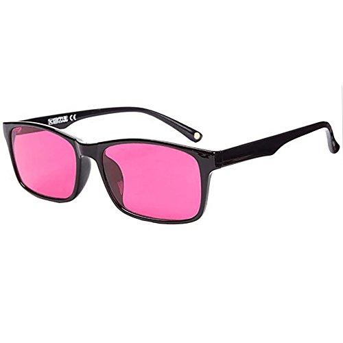 Fashion Look Color Blind Corrective Glasses for Red-Green Blindness Wayfarer (Color-Blind Goggles - Wayfarer Goggles