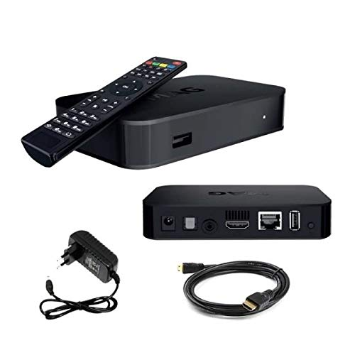 - Original MAG 322 by infomir + 1200 MBPS Dual Band 2.4 GHz/ 5.8GHz USB WiFi Adapter + US Power Adapter + HDMI Cable + Remote Control