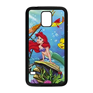 New Style Custom Picture The little mermaid Case Cover For samsung galaxy S5 Case