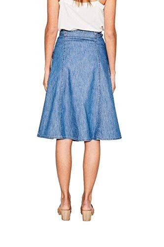 edc by Esprit, Falda para Mujer Azul (Blue Medium Wash)