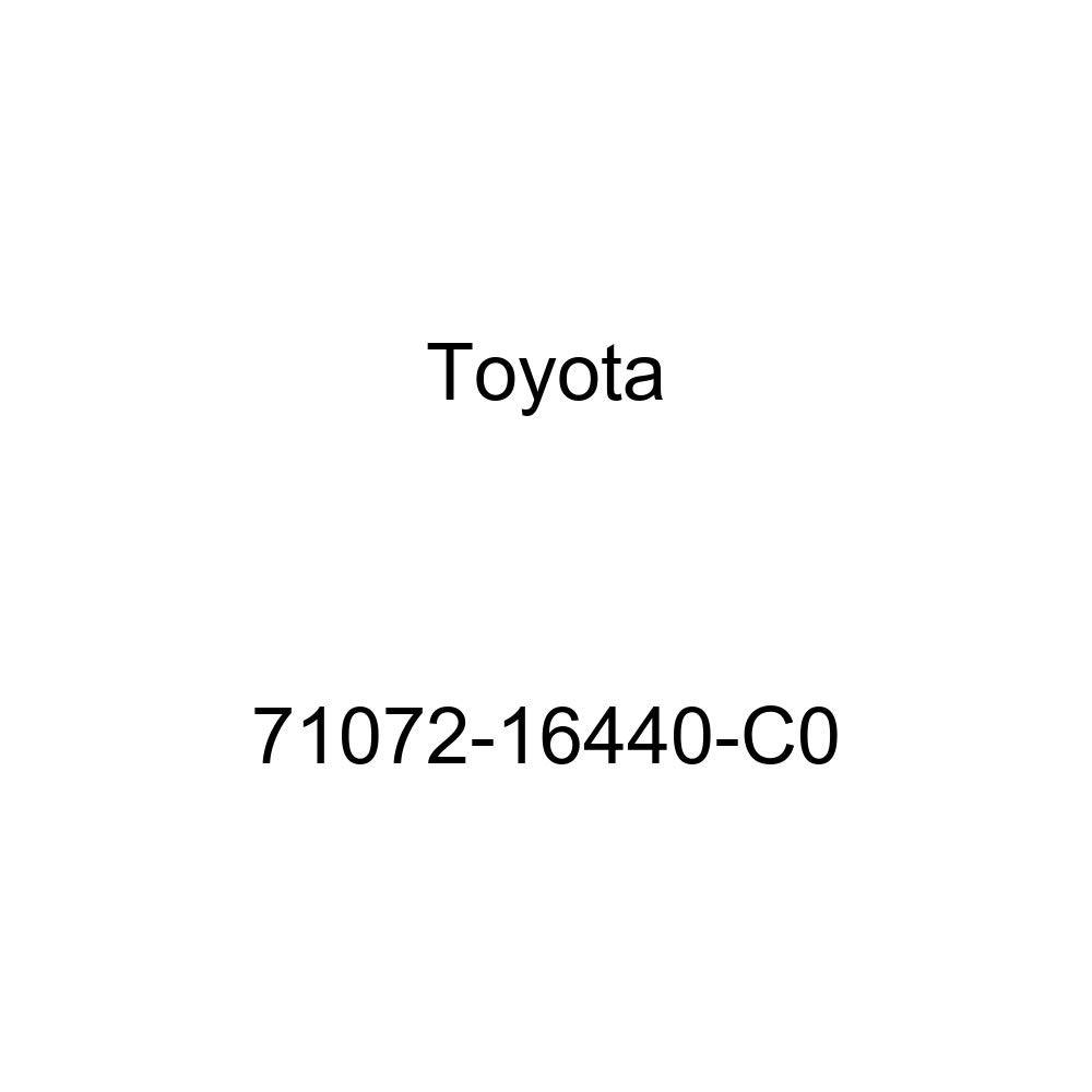 TOYOTA Genuine 71072-16440-C0 Seat Cushion Cover
