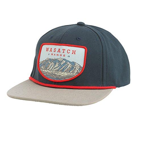 Sendero Wasatch Range Hat, Classic Navy/Storm, One - Indie Snapbacks