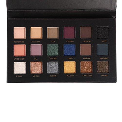 Inkach Eyeshadow Palette - 18Colors Makeup Palette Set Eye-s