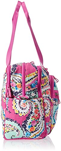 Vera Bradley Iconic Deluxe Weekender Travel Bag, Signature Cotton by Vera Bradley (Image #3)