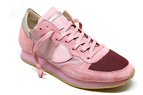 TRLDSR02 Philippe Sneakers Camoscio Model Rosa Donna qTBxWtT15n