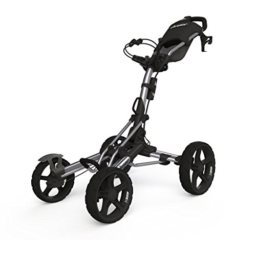 Clicgear Model 8.0 | 4-Wheel Golf Push Cart (Silver)