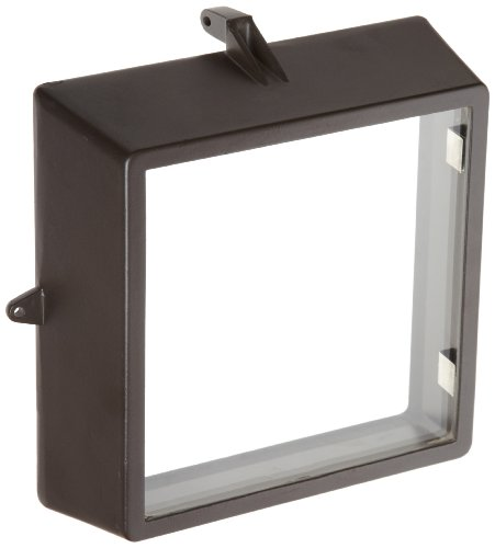 Morris Products 72055 Medium Floodlight, Replacement Door Frame with Glass Mounted - Of Frames Glasses Types