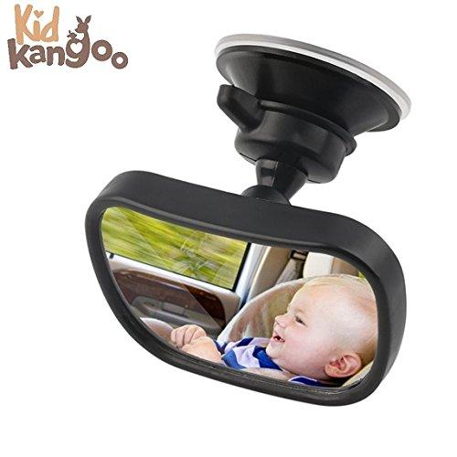 Miroir rétroviseur pour la voiture - miroir de siège arrière - miroir de voiture pour voir bébé - miroir pour surveiller bébé dans la voiture - Garantie et livraison gratuite -