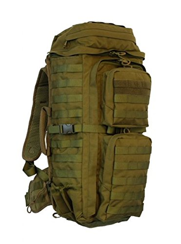 Eberlestock F3F FAC Track Pack w/Antenna Ports, Coyote Brown