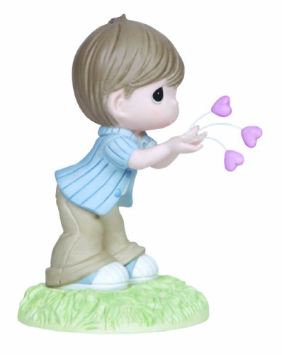 Precious Moments,  I Give You All My Love, Bisque Porcelain Figurine, 133003