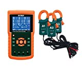 Extech PQ3450-12 1200A 3-Phase Power Analyzer and Data Logger Kit