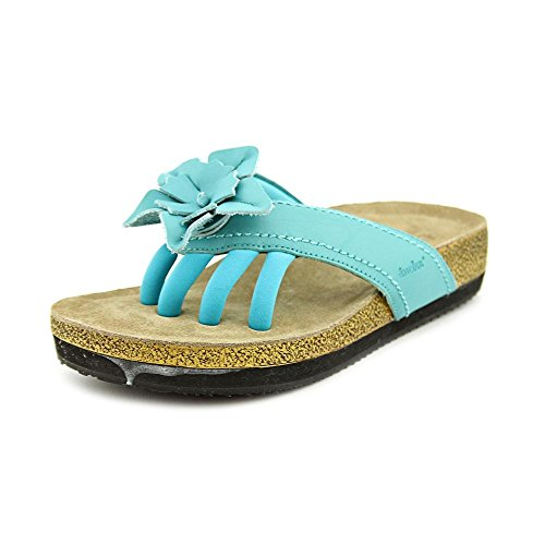 Terra Casual Leather Women's Wellness Sandals Chloe Wellrox Turquoise Bq5wSfW