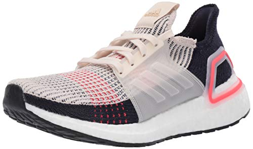 adidas Women's Ultraboost 19, Clear Brown/White/Legend Ink, 5.5 M US