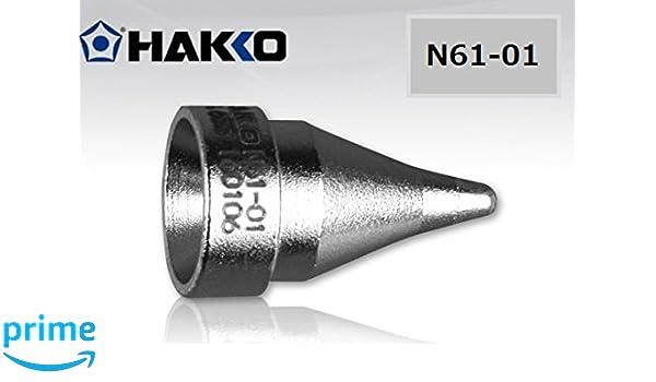 N61-05 Hakko 1.0mm Desoldering Gun Nozzle//Tip For model FR301-03//P FR-301 New