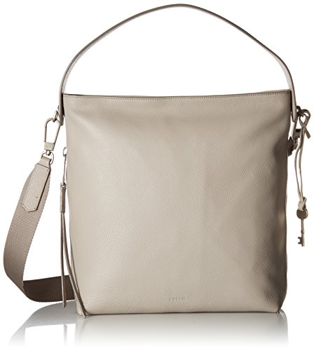 Gray Hobo Handbag - 1