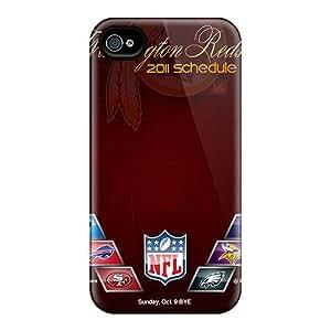 ErleneRobinson Iphone 6 Well Designed Hard Phone Case Trendy Washington Redskins Series [SBX8182UYmR]
