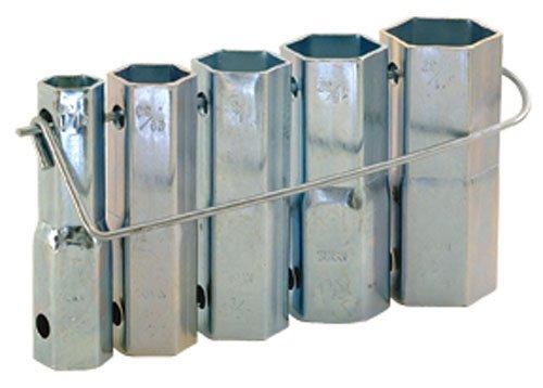 (Eastman 45041 Plumber Socket Set with Bar Handle 2.1 x 4.8 x 8